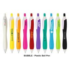 Bubble_Push Action Ball Plastic Pen