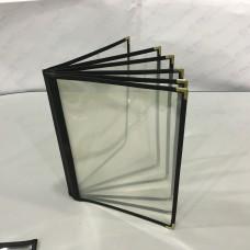 A4-12pp Menu PVC Folder