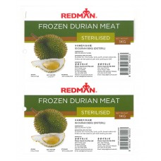 Redman Frozen Durian Meat